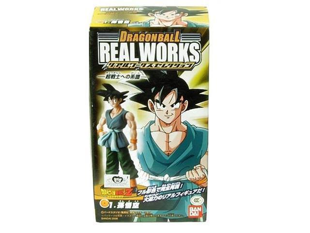 Dragonball Z Real Works Trading Figure: Goku