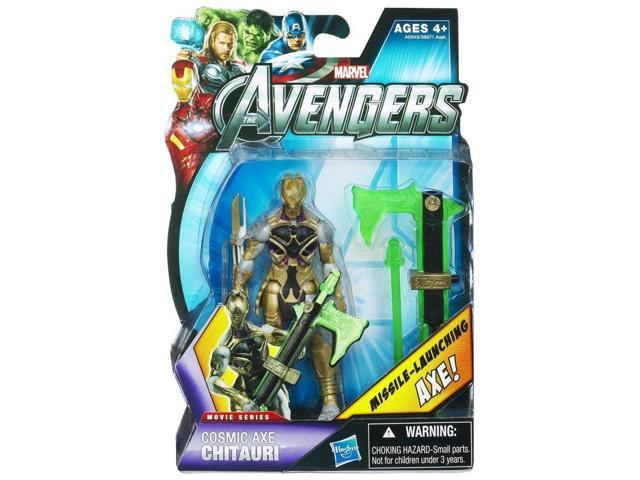 The Avengers Movie Series Figure Cosmic Axe Chitauri