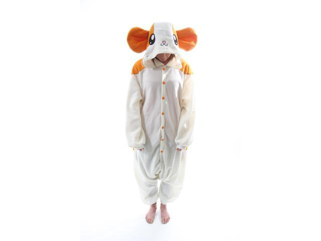 BCozy Kigu Unisex Animal Costume Pajama Onsie Adult Hamster Z One Size Fits Most