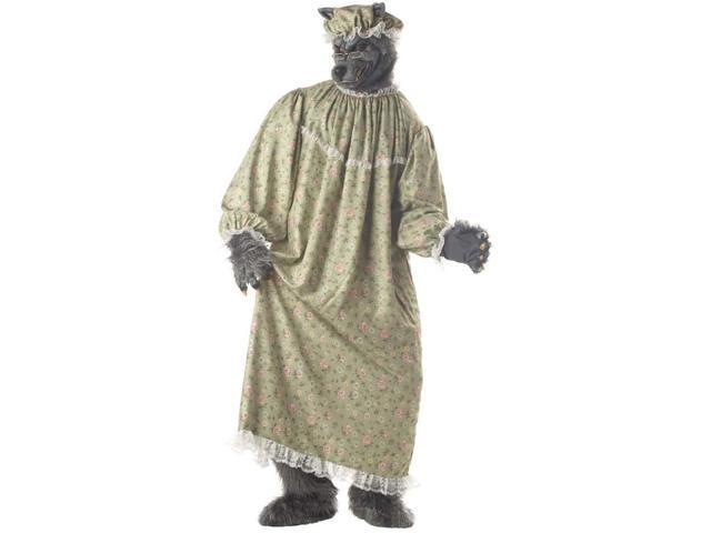 Wolf Granny Costume Adult Standard