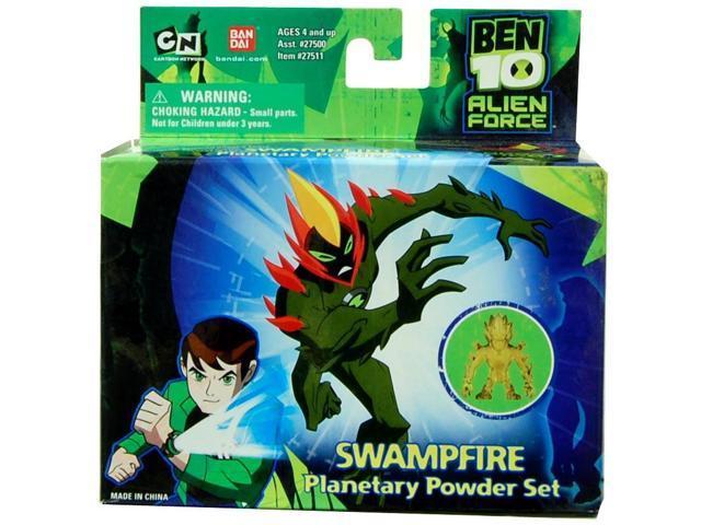 Ben 10 Planetary Powder Set Swampfire