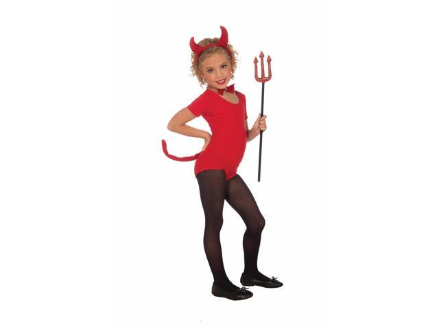 Plush Devil Costume Kit Child One Size