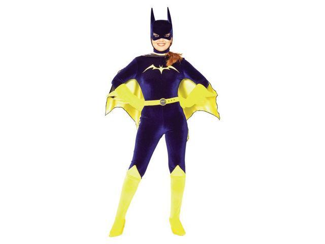 Gotham Girls Batgirl Velvet Adult Costume Small