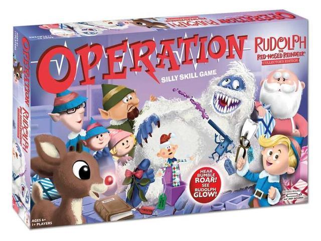 Operation: Rudolph The Red Nosed Reindeer Edition Board Game