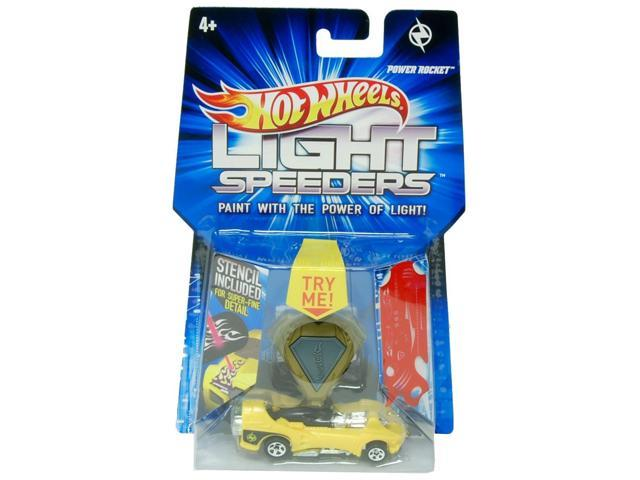 Hot Wheels Light Speeder Power Rocket