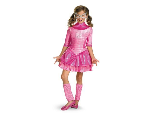 Spider-Girl Deluxe Pink Costume Dress Child X-Small 3-4T