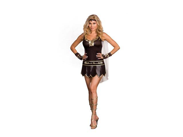Sexy Viking Babe-A-Lonian Warrior Queen Adult Costume X-Large