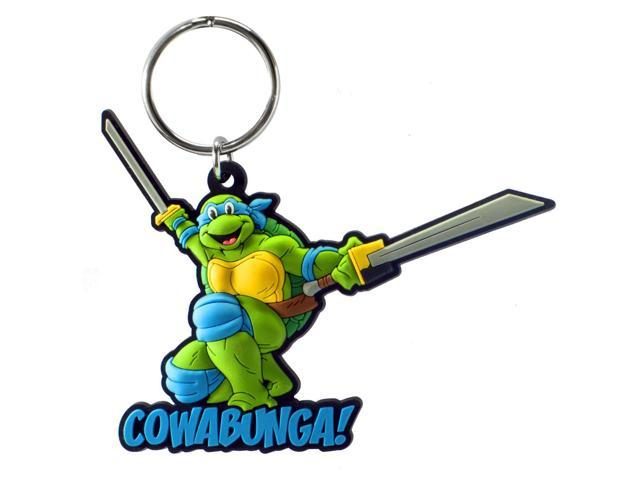 Teenage Mutant Ninja Turtles Soft Touch PVC Key Ring: