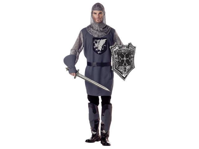 Valiant Medieval Knight Costume Adult Large 42-44