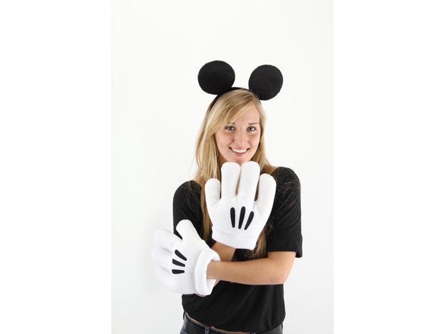 Disney Mickey Ears & Gloves Costume Accessory Set One Size