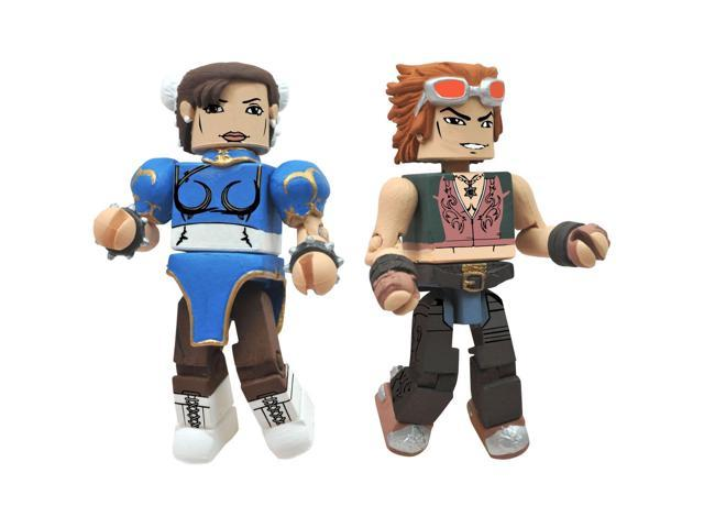 Street Fighter X Tekken Minimates Chun-Li Vs Hwoarang
