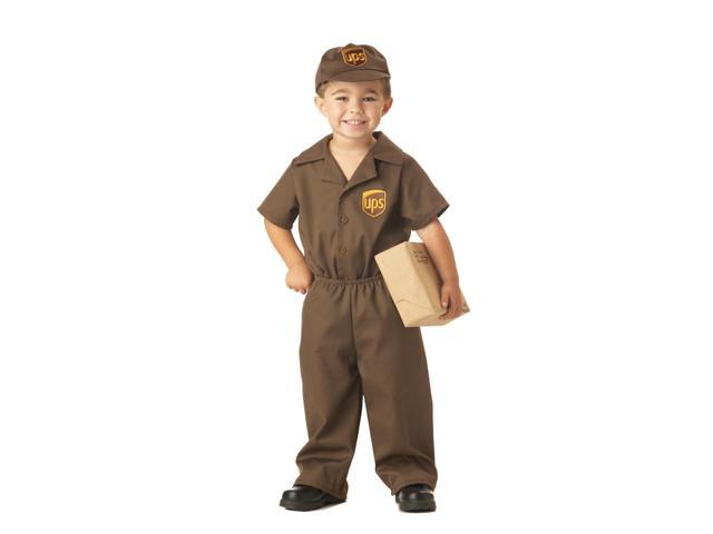 Ups Guy Costume Toddler 2T-3T