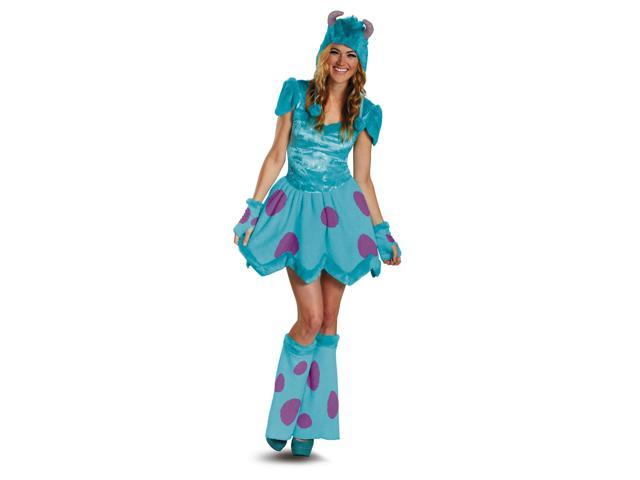 Monsters University Sassy Sulley Costume Dress Adult Small