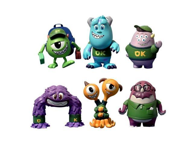 Monsters University Cosbabies Set Of 6 By Hot Toys