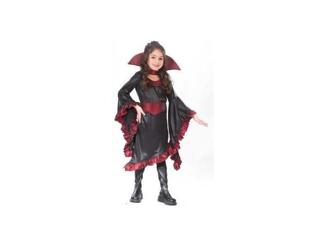 Ruffle Vampiress Costume Child Medium