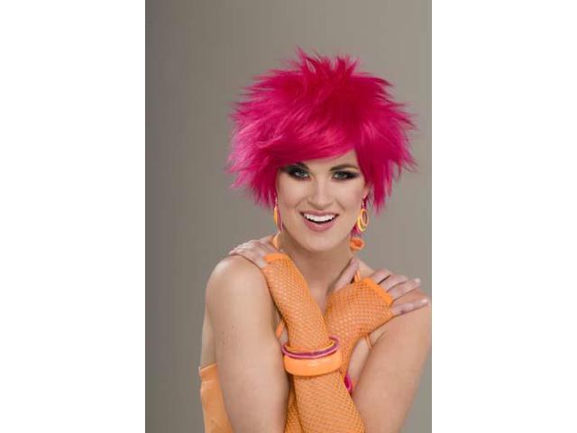 Pink Pop Costume Wig