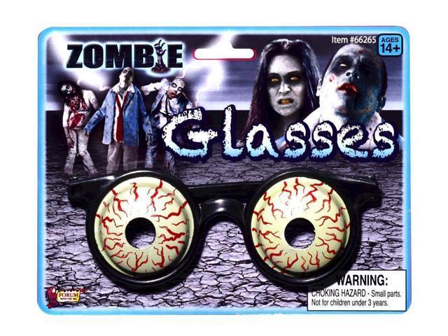 Zombie 3-D Glasses Costume Eyewear Accessory