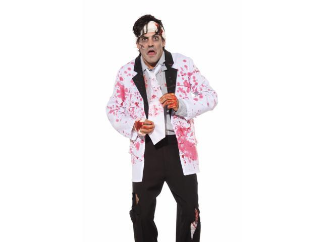 Bloody White Costume Neck Tie Adult One Size