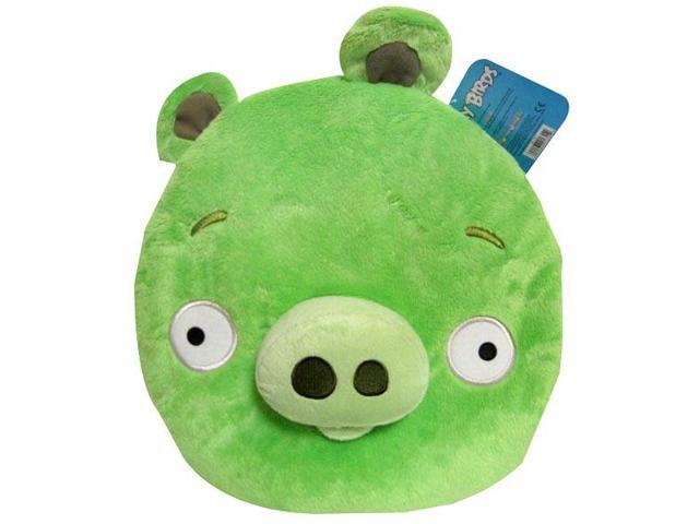 """Angry Birds 12"""" Plush Backpack: Green Pig"""