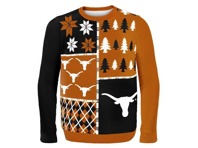 Texas Busy Block NCAA Ugly Sweater X-Large