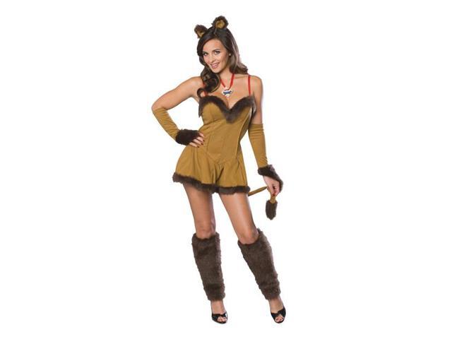 Wizard Of Oz Sexy Cowardly Lion Adult Costume Medium