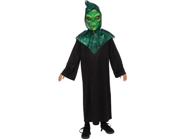 Alien Costume Child: Green Small