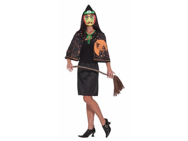 Retro Classic Witch Costume Adult Standard