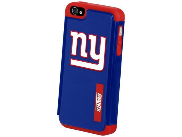 New York Giants NFL Dual Hybrid 2-Piece Apple For iPhone 5 Cover