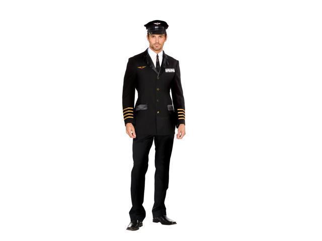 Mile High Pilot Hugh Jorgan Costume Adult X-Large