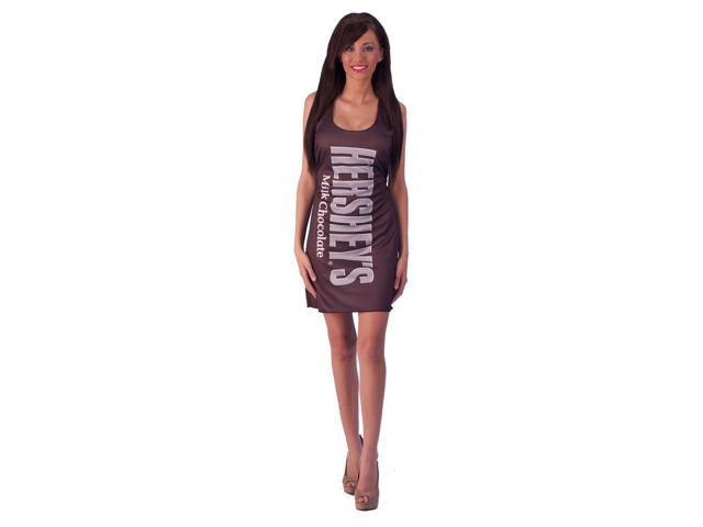 Hershey's Milk Chocolate Bar Costume Teen Tank Dress Teen One Size Fits Most
