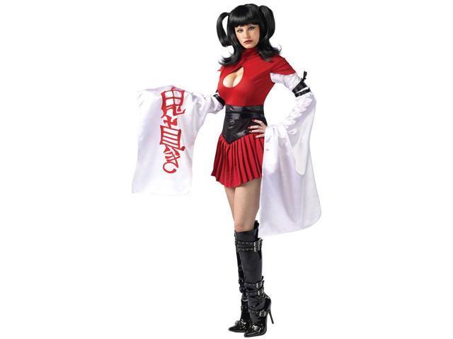 Samurai Geisha Sexy Costume Adult Medium/Large