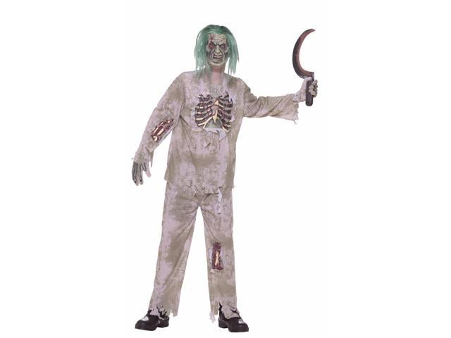 Scary Zombie Kid Costume Child Large