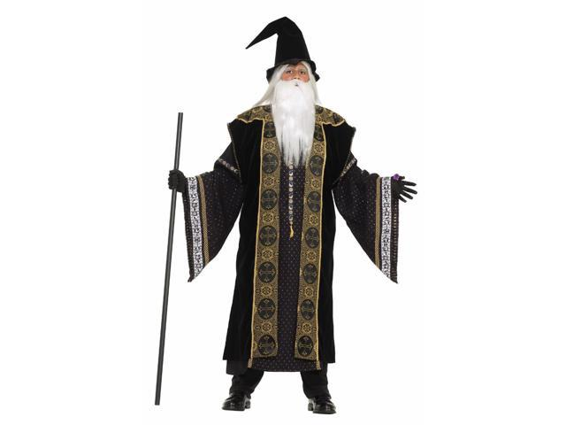Designer Deluxe Wizard Costume Adult Small