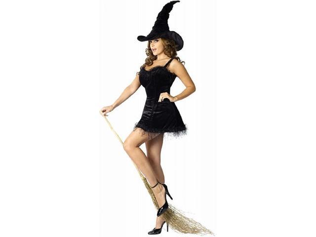 Midnight Witch Sexy Costume Adult Small/Medium