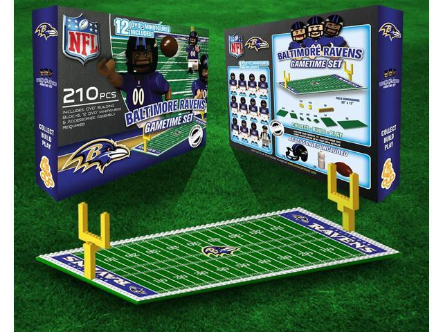 Baltimore Ravens NFL OYO Figure and Field Team Game Time Set