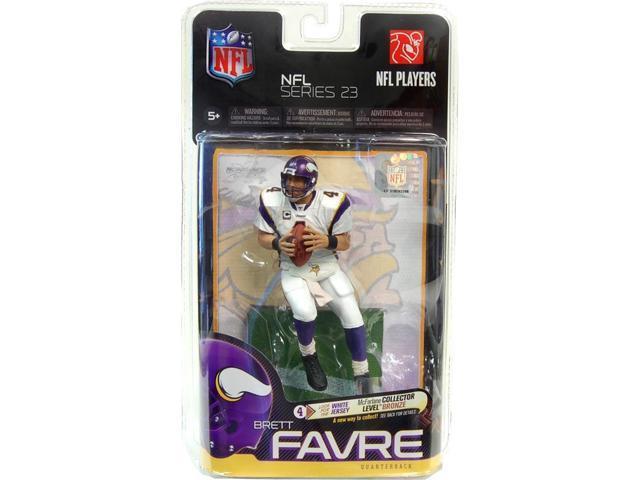 McFarlane NFL Series 23 Brett Favre Collector Bronze Level Variant