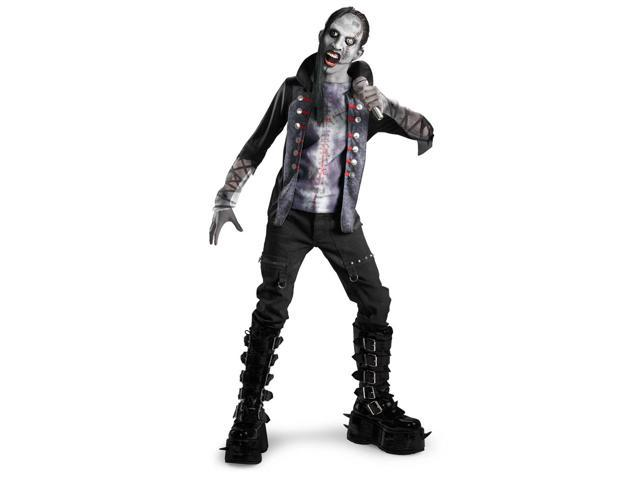 Goth Evil Shock Rocker Costume Child X-Large 14-16
