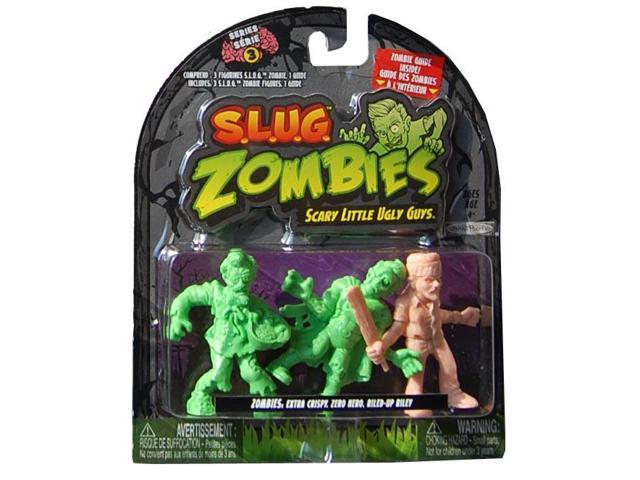 S.L.U.G Zombies 3 Pack Wave 3 Extra Crispy, Zero Hero, Riled-Up Riley