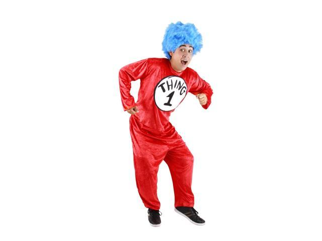 Dr. Seuss Thing 1 & 2 Costume Adult Large/X-Large