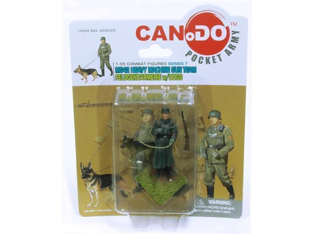1:35 Combat Figure Series 7 Mg42 Gun Team Feldgendarmerie Figure A