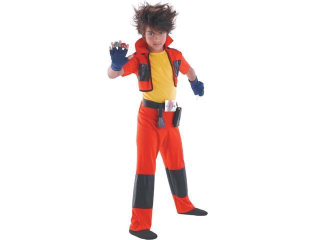 Bakugan Dan Classic Child Costume 10-12