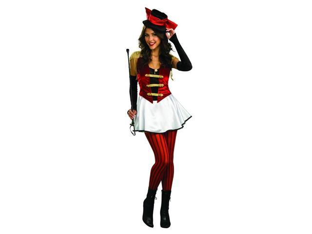Circus Ring Mistress Master Costume Dress Adult Standard