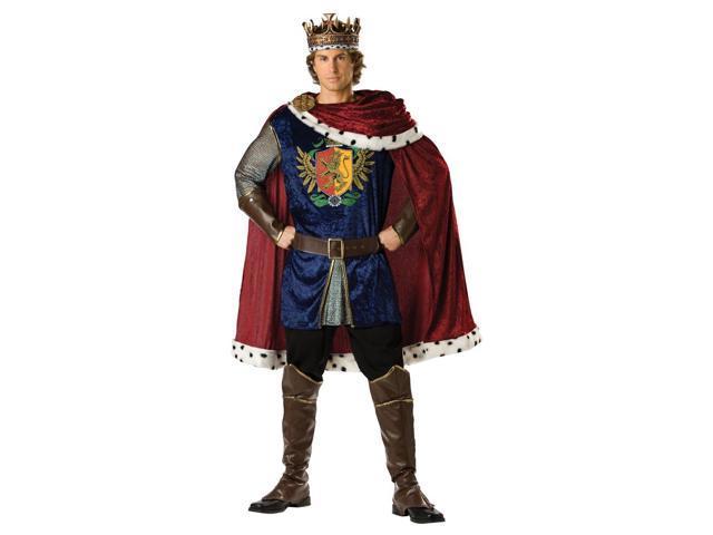 Noble King Tunic & Cape Designer Costume Adult Large