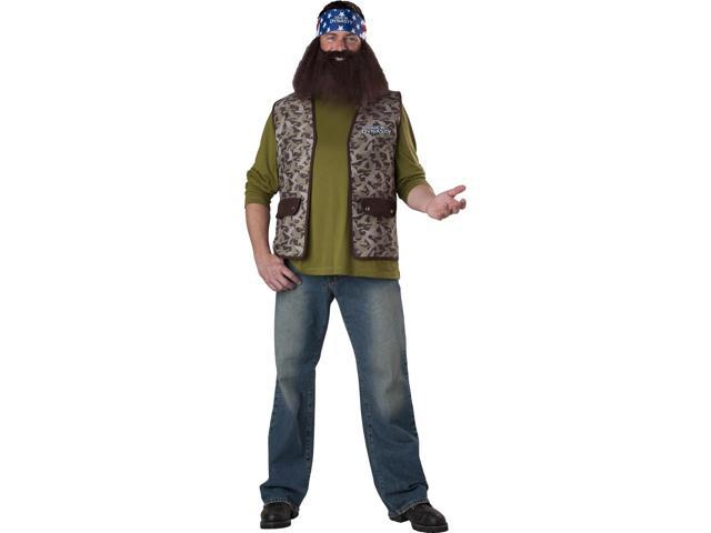 Duck Dynasty Adult Costume Willie One Size Fits Most