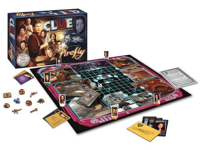 Clue Boardgame Firefly Edition