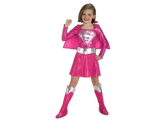 Supergirl Pink Toddler Costume Medium