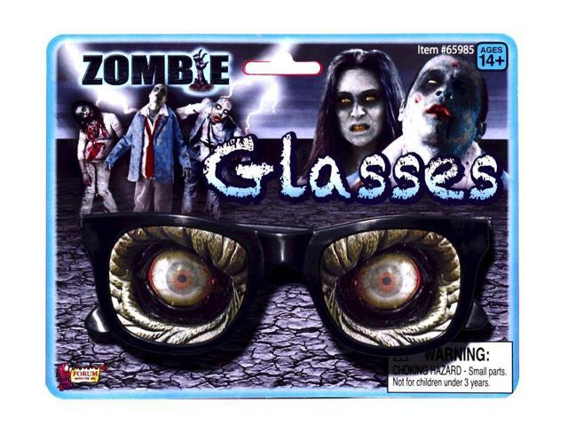 Zombie Glasses Costume Eyewear Accessory