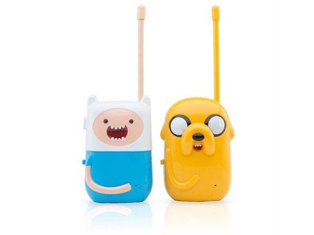 Adventure Time Walkie Talkie With Belt Clip Jake And Finn