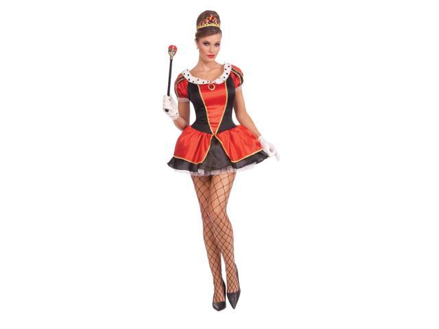 Sexy Miss Royal Tease Adult Costume One Size Fits Most