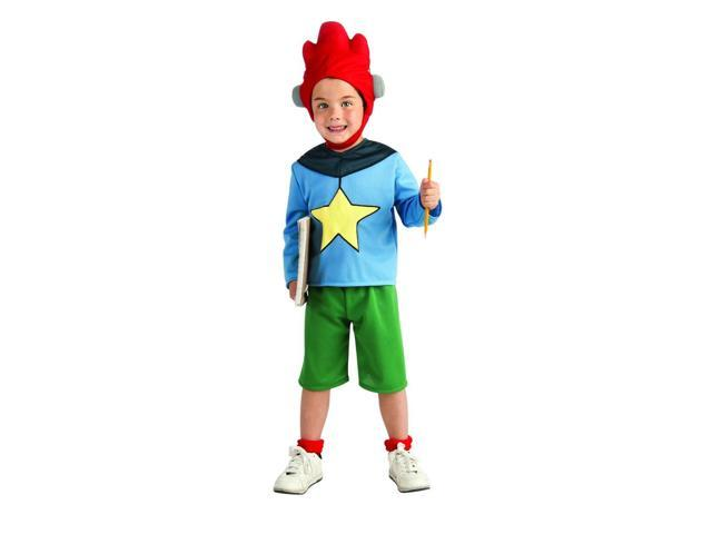Scribblenauts Deluxe Maxwell Costume Child Small 4-6